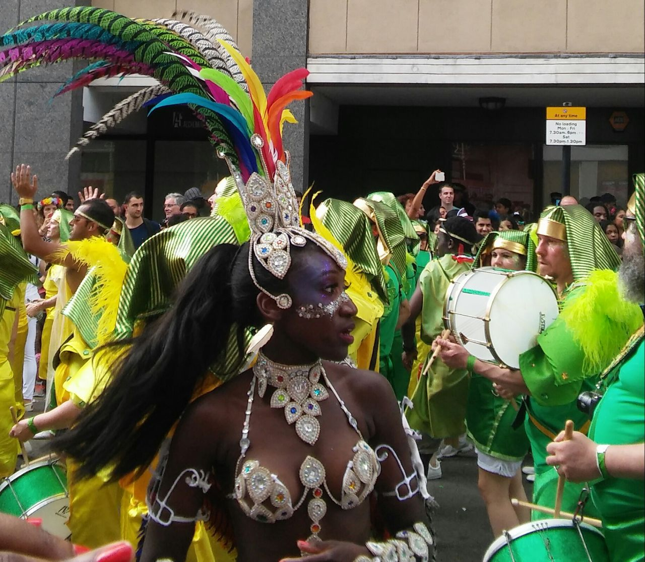 Notting Hill Karneval in London (Foto: Birgit Hartmeyer)