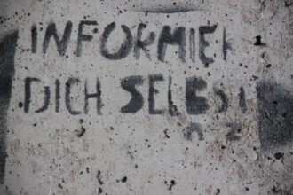 Informiere dich selbst (Foto Arnold llhardt)